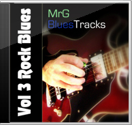 MrG Blues Backing Tracks Vol 3 – Rock Blues