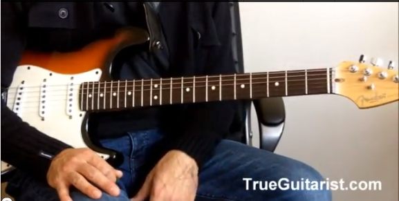 How to Play the 'Walk of life' Groove on guitar