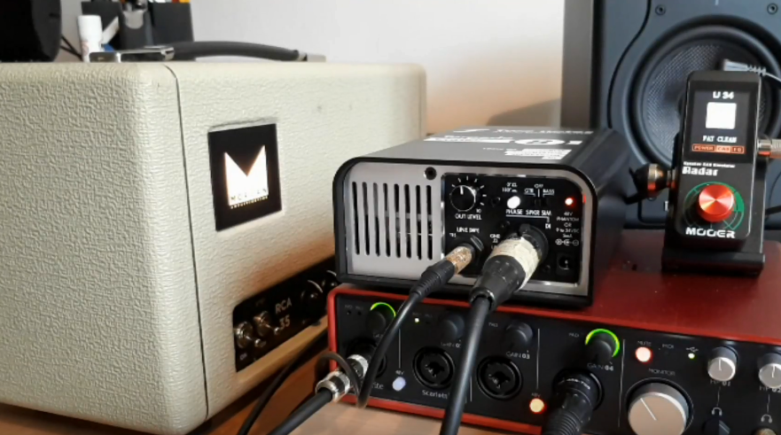 How to record silently at home with a tube amp and a load box
